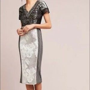 Byron Lars dress Anthropologie